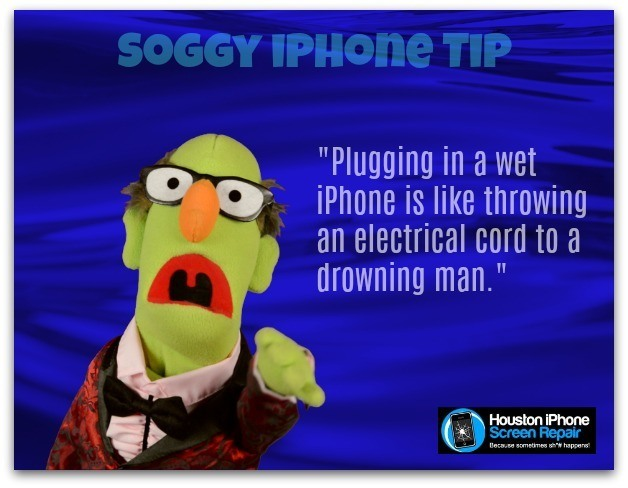 wet iPhone myth