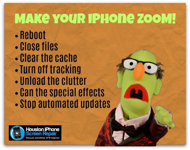 Speed up your iPhone