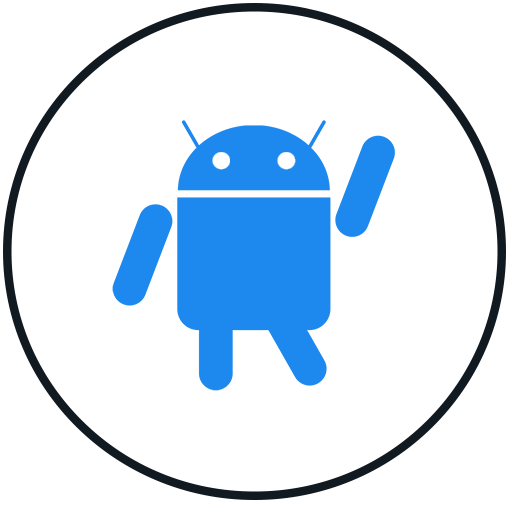 HISR Repair android icon (blue black)