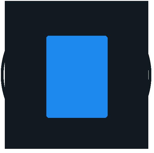 HISR Repair tablet icon (blue black)